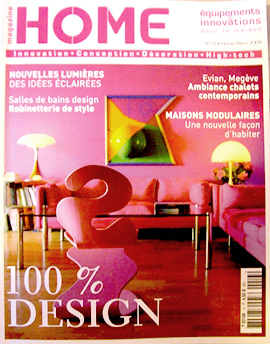 magazines d co et architecture. Black Bedroom Furniture Sets. Home Design Ideas