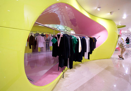 Architecture d 39 int rieur et magasins for Boutique decoration interieur