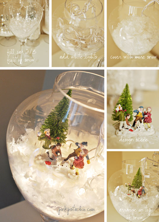 10 id es d co no l diy - Idee deco table noel a faire soi meme ...