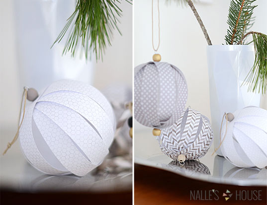 10 id es d co no l diy - Idee de decoration de noel a faire soi meme ...