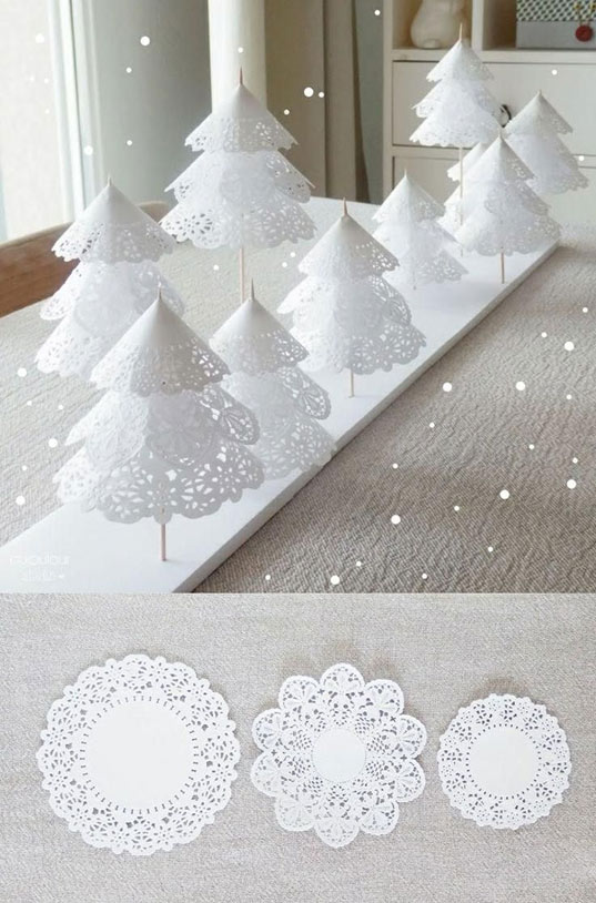 10 id es d co no l diy - Deco noel papier ...