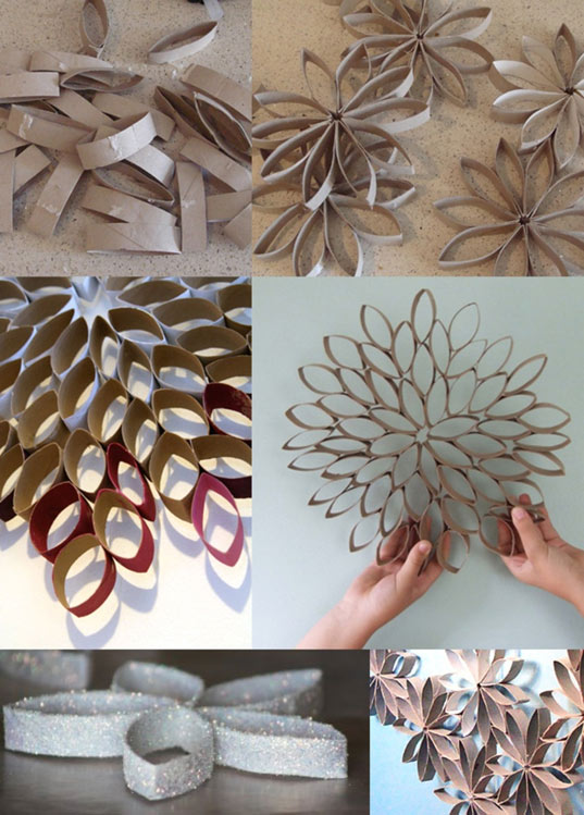 10 id es d co no l diy - Comment faire un sapin de noel en papier ...