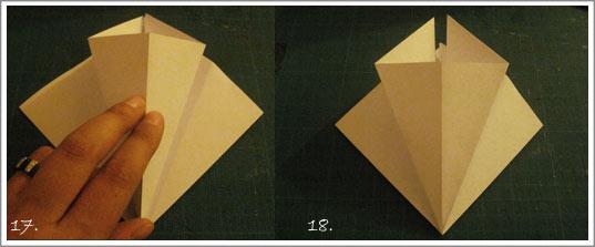 fleurs de lys origami. Black Bedroom Furniture Sets. Home Design Ideas