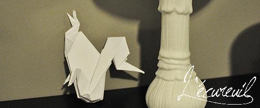 d coration no l fait main origami. Black Bedroom Furniture Sets. Home Design Ideas
