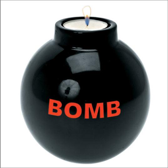 شموع غاية في الروعة Bougie-tendance-insolite-bombe