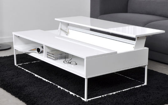 Choisir sa table basse - Table basse luxe design ...