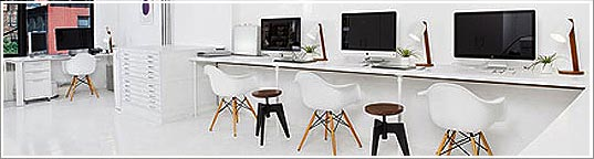 la d coration de bureau agence design. Black Bedroom Furniture Sets. Home Design Ideas