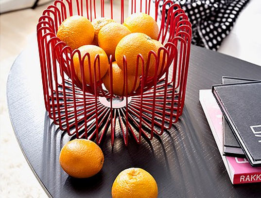D coration rouge objet d co for Objet deco cuisine design