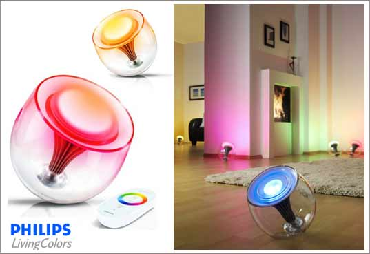 Ikea Eckschrank Schreibtisch ~ lumiere coloree Living Colors lanmpe philips id Deco