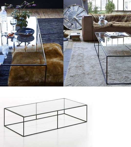 Mobilier contemporain am pm for Table basse scandinave ampm