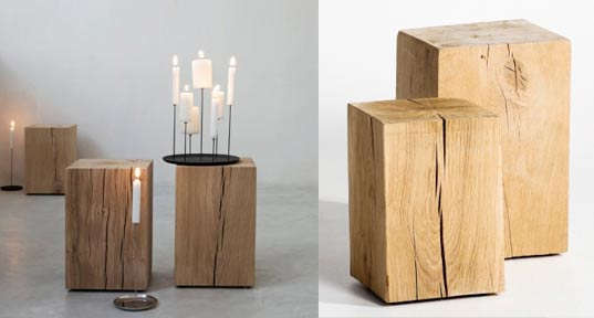 Mobilier Bois Cube : Mobilier contemporain am pm