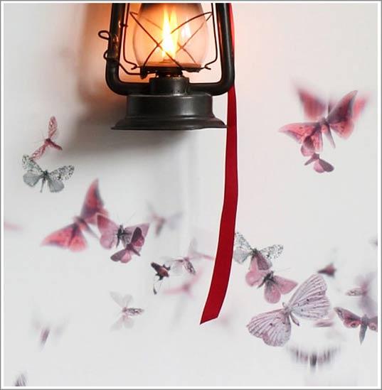 deco tendance papier peint design papillon id-Deco