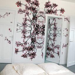 papier peint design d coration murale. Black Bedroom Furniture Sets. Home Design Ideas