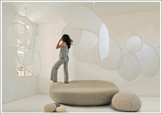 Rideaux design - Idee de separation de piece ...
