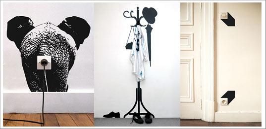 stickers originaux et cr atifs. Black Bedroom Furniture Sets. Home Design Ideas