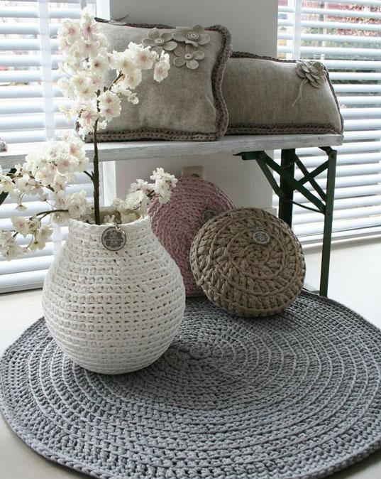 D coration maion diy en crochet for Salon tricot