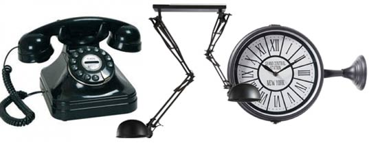 maison du monde telephone vintage ventana blog. Black Bedroom Furniture Sets. Home Design Ideas